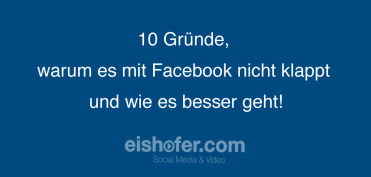 10 Gründe für den Facebook  Erfolg