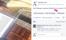Facebook-Beitrag-ändern