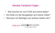 Facebook Fragen
