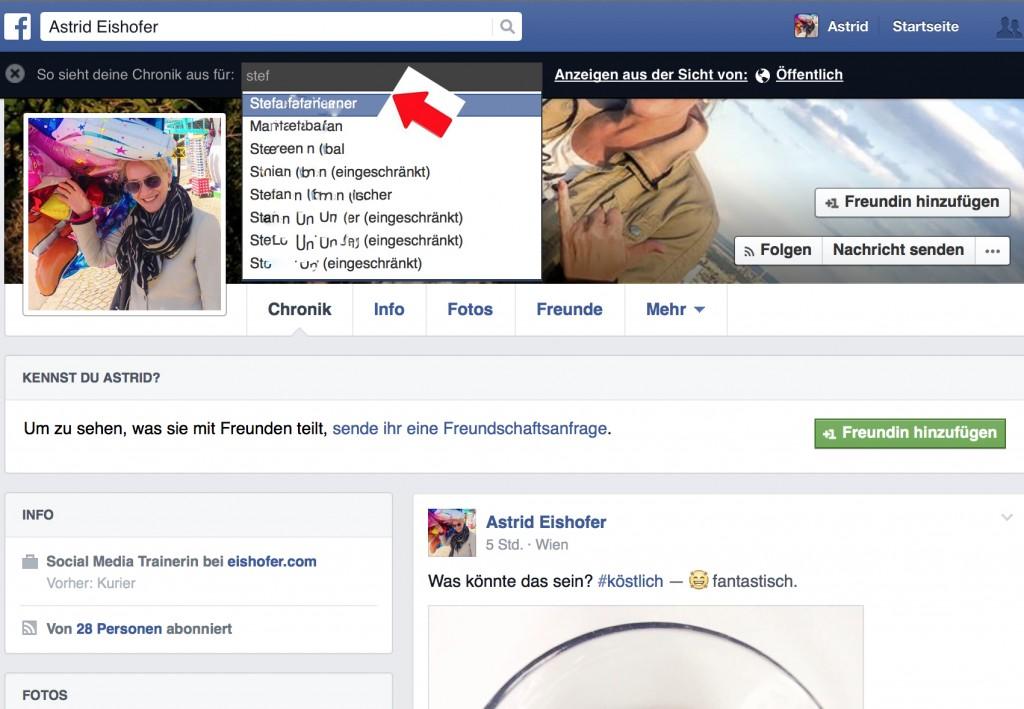 Facebook Anzeigen Aus Sicht Von