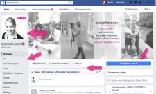 Neues Facebook Design 1