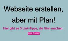 Webseite erstellen mit Plan 2