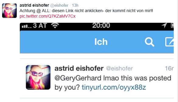 Twitter Account gehackt: Informieren Sie rasch Ihre Follower
