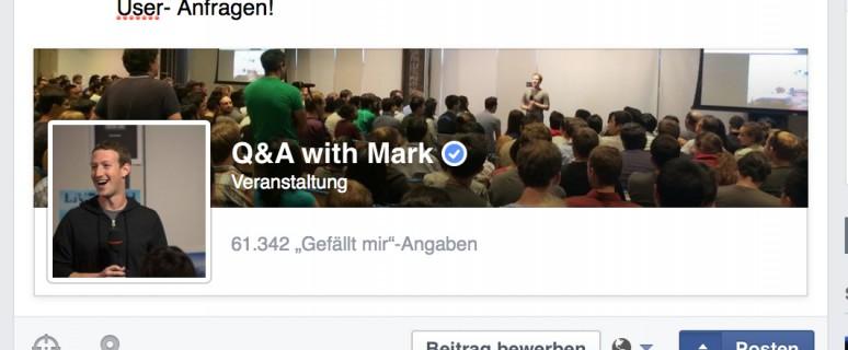 Facebook Beiträge planen