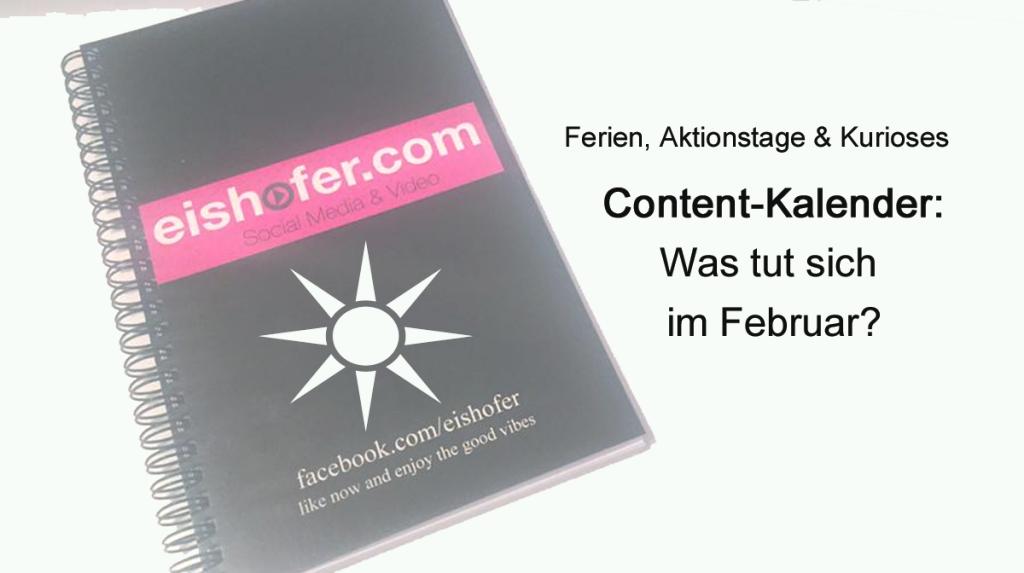 Content Kalender Februar