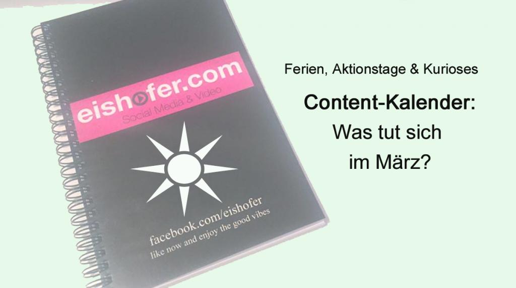 Content Kalender Maerz