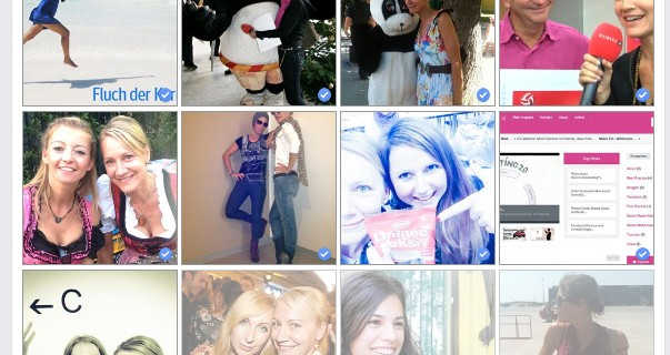 Facebook Lookback: Wählen Sie die Bilder aus, die Sie in Ihrem Video haben möchten