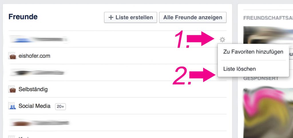 Facebook-Freundesliste-entfernen