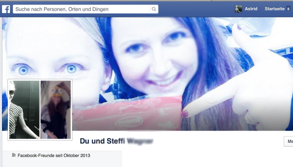 Facebook Freundschaft anzeigen