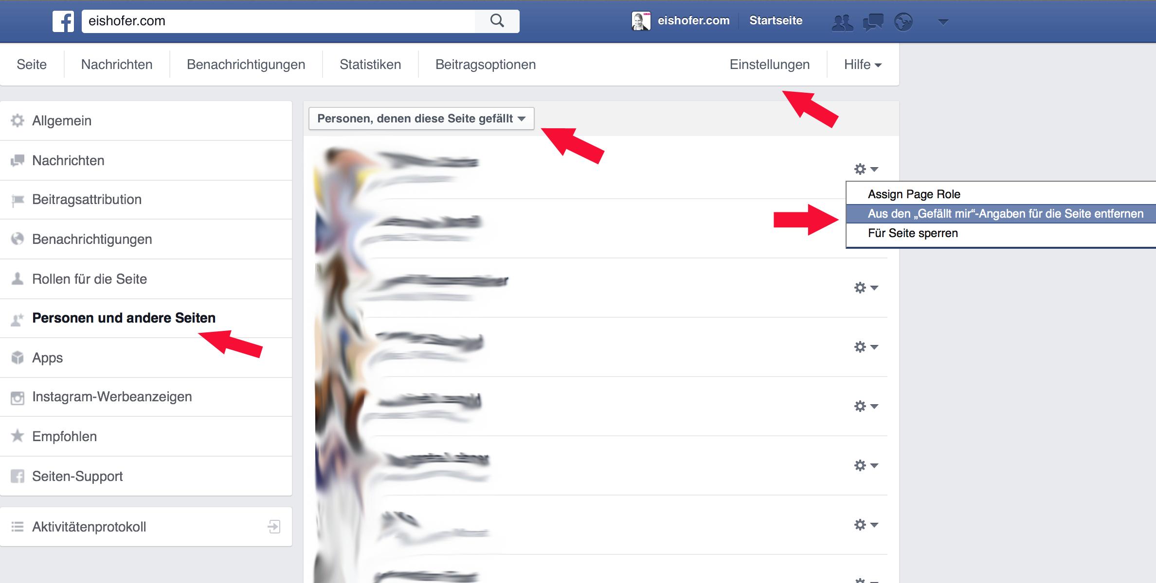 meine facebook seite