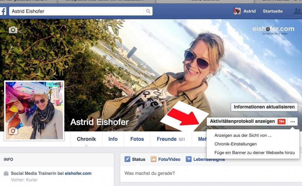 Facebook Profil Anzeigen Aus Der Sicht Von