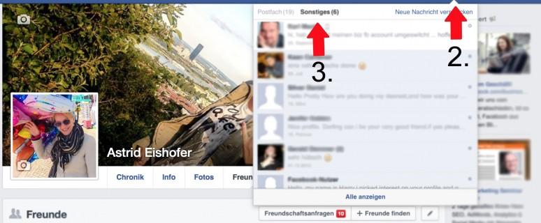 "Facebook: So finden Sie den ""Sonstiges""- Ordner"