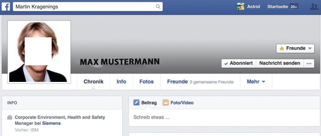 Facebook Freund Verbergen