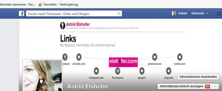 Facebook Username ändern Astrid Eishofer Blog 3