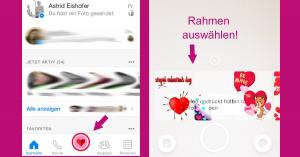 Facebook Valentinstag App 2017