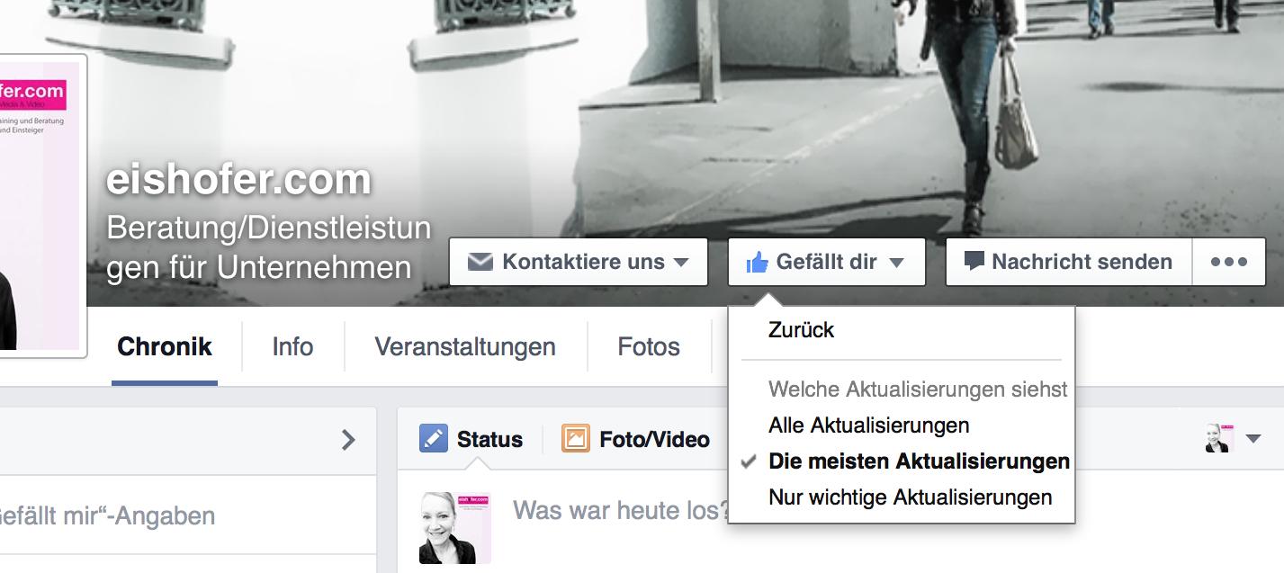 Facebook gefällt mir 1