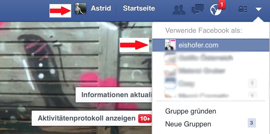 Facebook nutzen als
