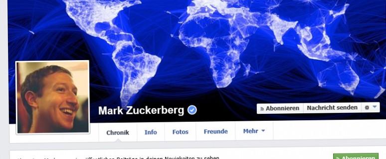 Facebook-Seiten können nur mehr mit privaten Profilen angelegt werden.