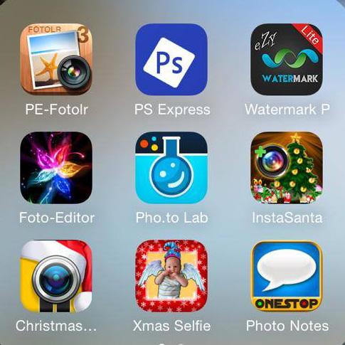 Foto Apps fürs iPhone