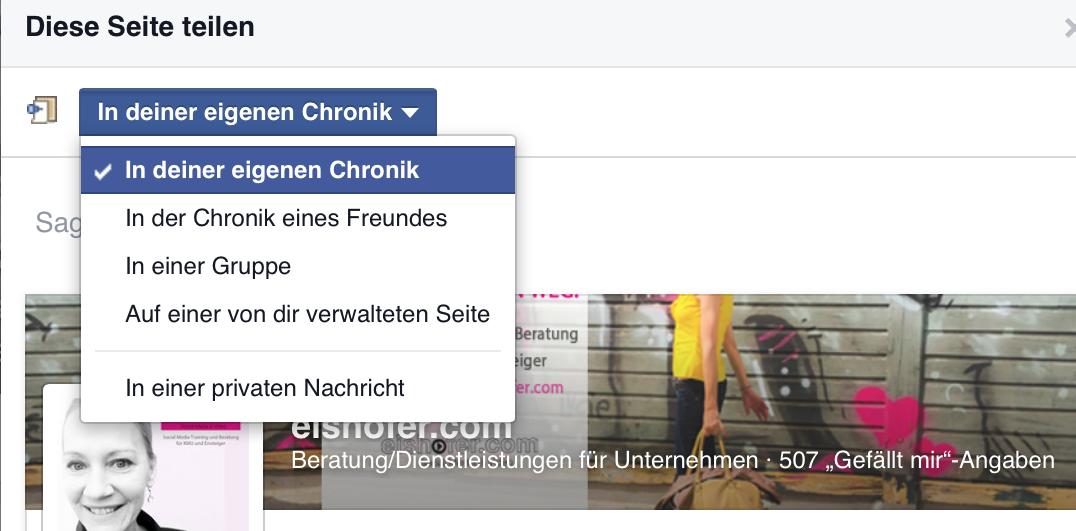 freunde einladen eine facebook-seite zu liken | eishofer, Einladung