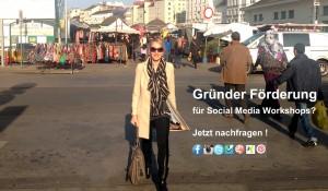 Gründer Förderung für Social Media Workshops
