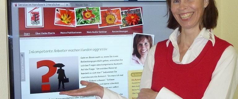 Heike Eberle, Social Media Pionierin der deutschen Handwerksbranche