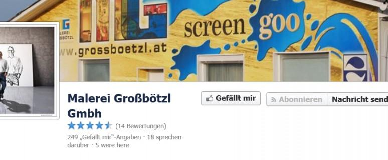 Malerei Großbölzl auf Facebook