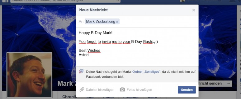 Happy B-Day Mark Zuckerberg!