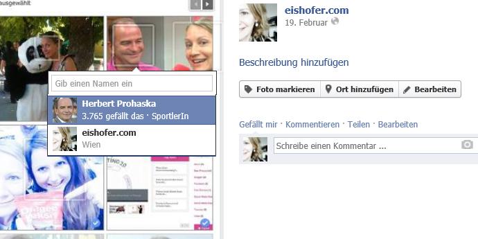 So können Facebook-Seiten andere Fan-Seiten taggen