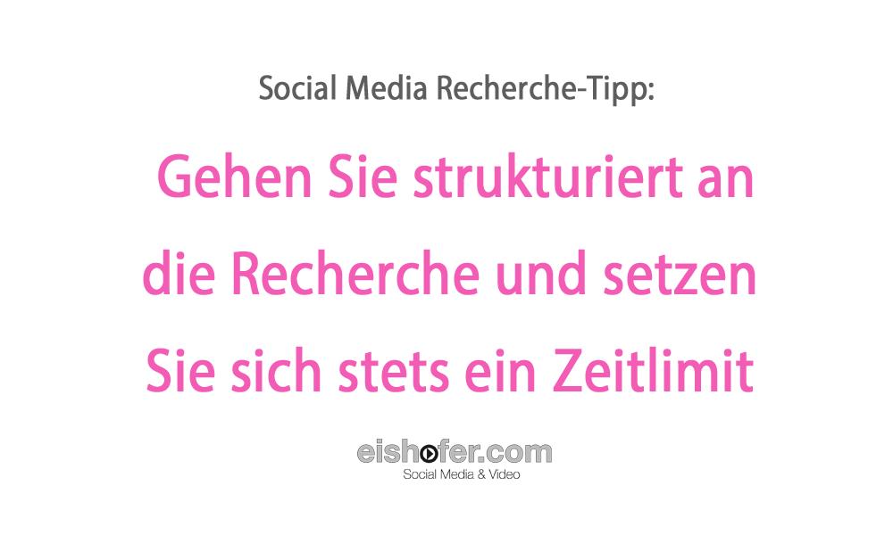 Social Media Recherche