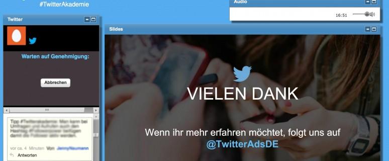 Die deutschsprachige Twitter-Akademie bietet kostenlose Webinare an, um den Kurznachrichtendienst besser kennenzulernen