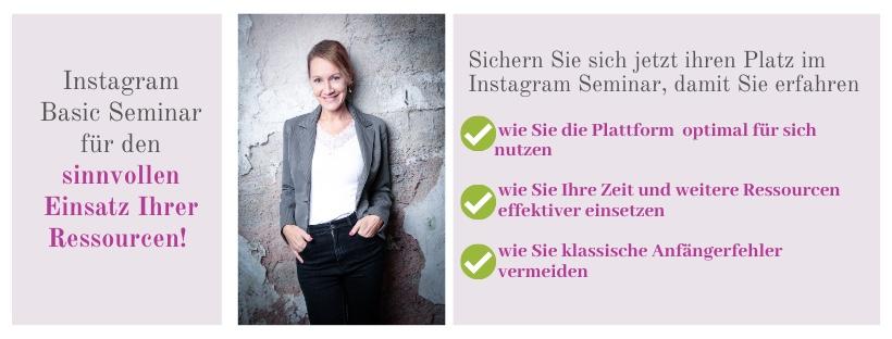 Instagram Basic Seminar Wien