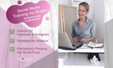 Social Media Training Content via Skype