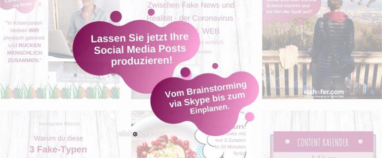 Social Media Conten Plan erstellen lassen